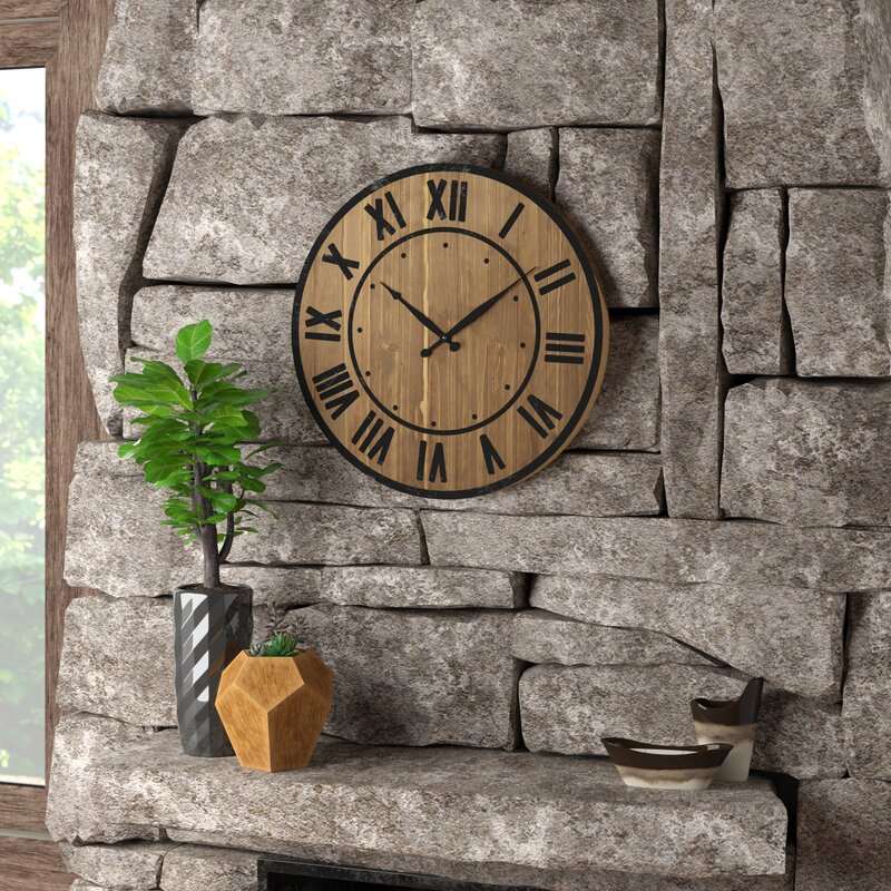 Trent Austin Design Northrop Wine Barrel 24 Quot Wall Clock