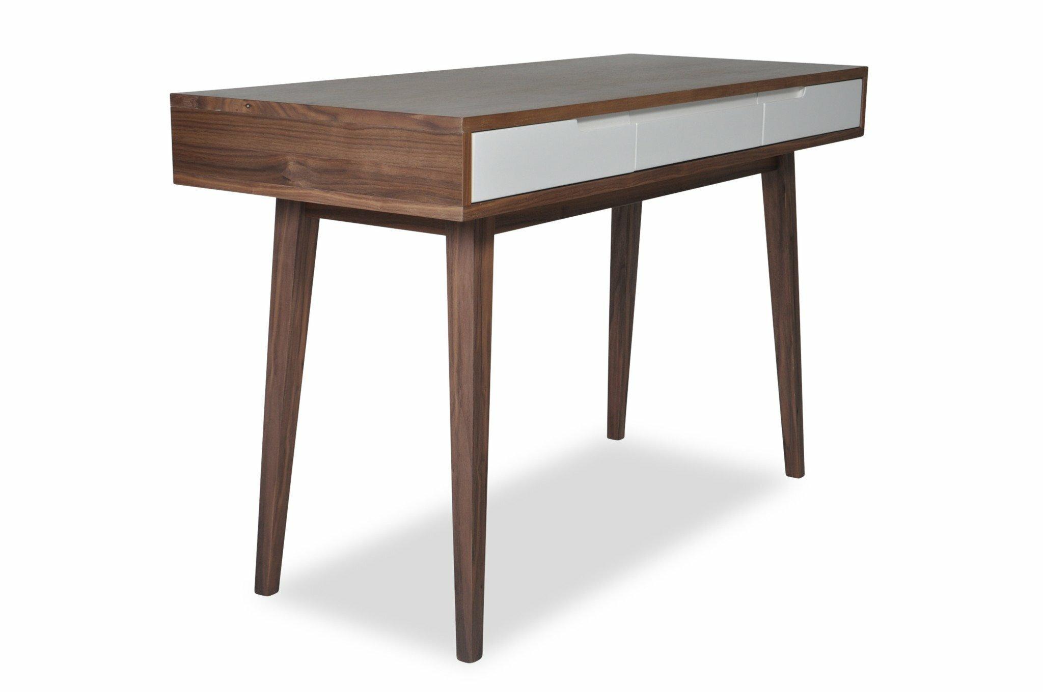 Corrigan studio jeffry mid century modern rectangular desk wayfair