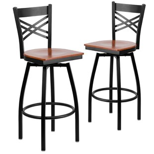 Chafin 30 Swivel Bar Stool (Set of 2)