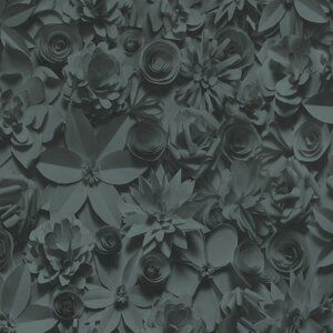 32.97″ x 20.8″ 3D Embossed Floral and botanical Wallpaper