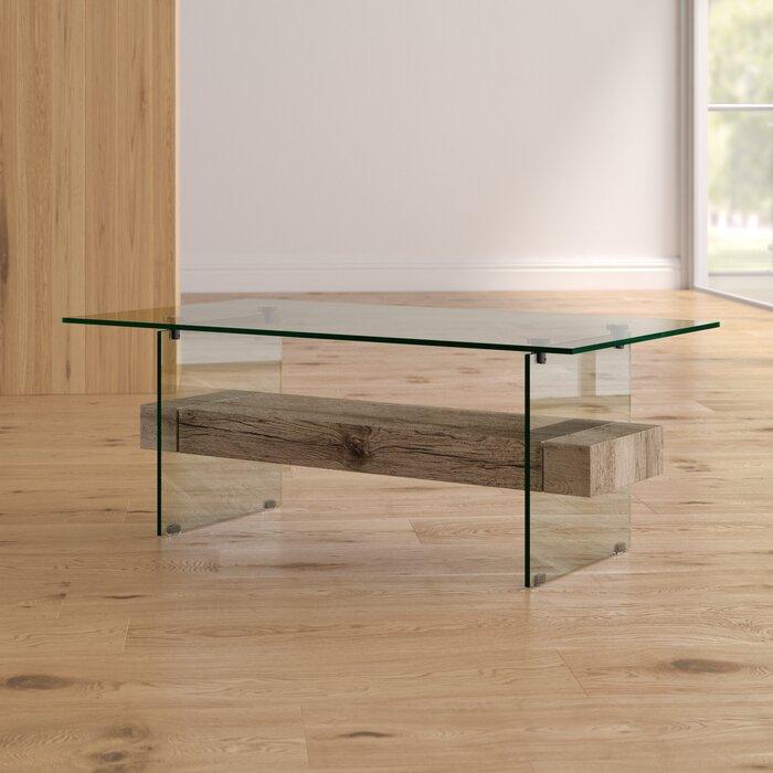 Superieur Christen Modern Glass Coffee Table