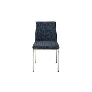 Weston Side Chair in Cashmere - Dark Grey..