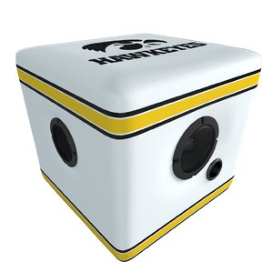 Hawkeyes Speaker Ottoman by Rainmaker Imports