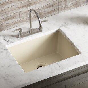 Beige kitchen sinks youll love wayfair beige kitchen sinks workwithnaturefo