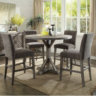 Balfor Round 5 Piece Counter Height Dining Set