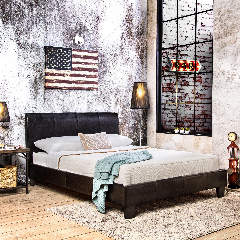 Hokku Designs Windal Upholstered Platform Bed Reviews Wayfair