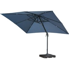 10' Square Cantilever Umbrella with Base