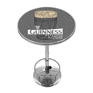 Guinness Line Art Pint Pub Table
