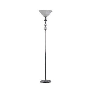 Bairdstown Crystal 72 Torchiere Floor Lamp