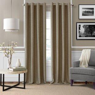 taupe curtains wayfair
