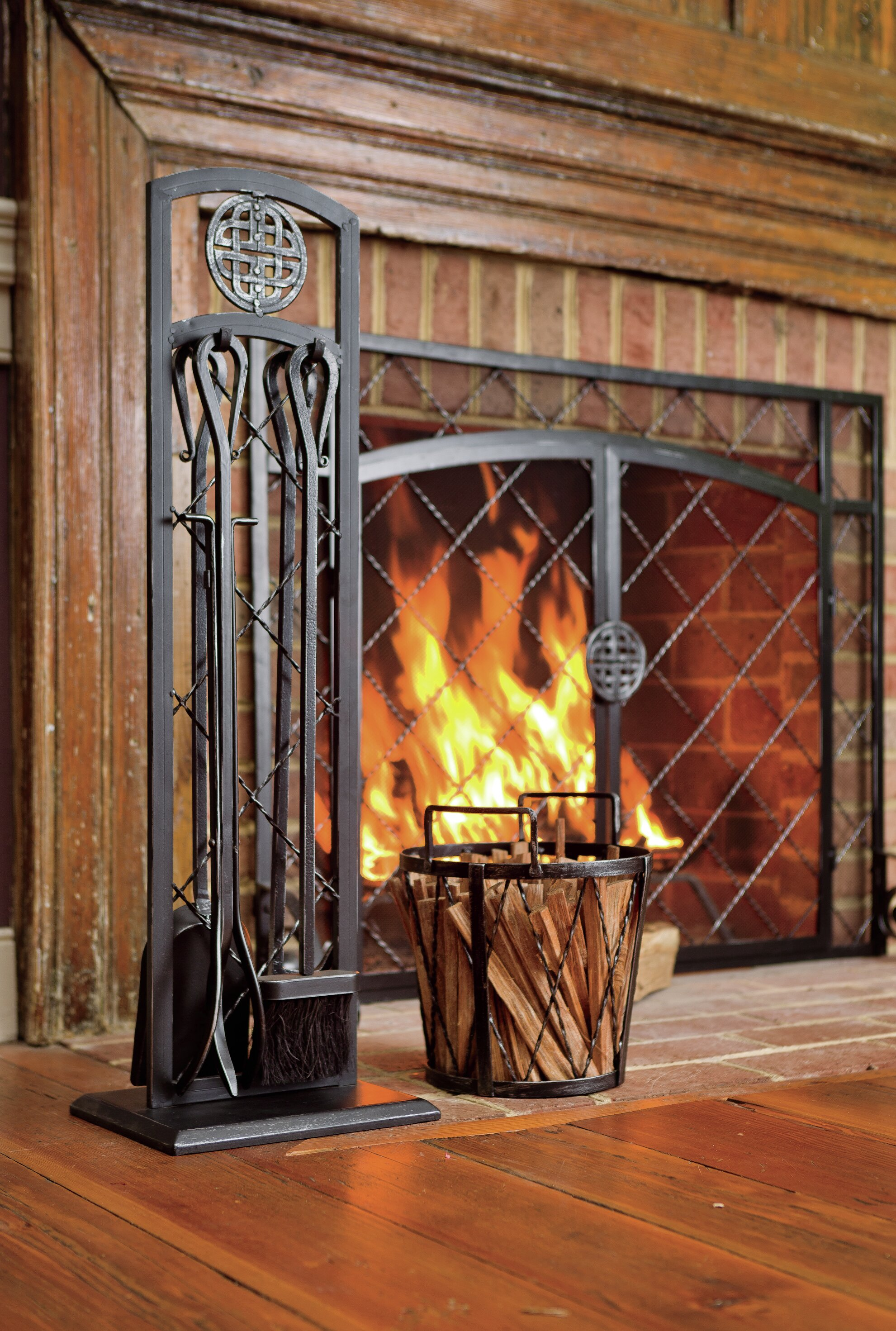 fireplace ideas broom home burning for stunning tile pin wood your