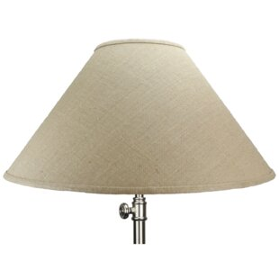 Burlap lamp shades wayfair save to idea board mozeypictures Images
