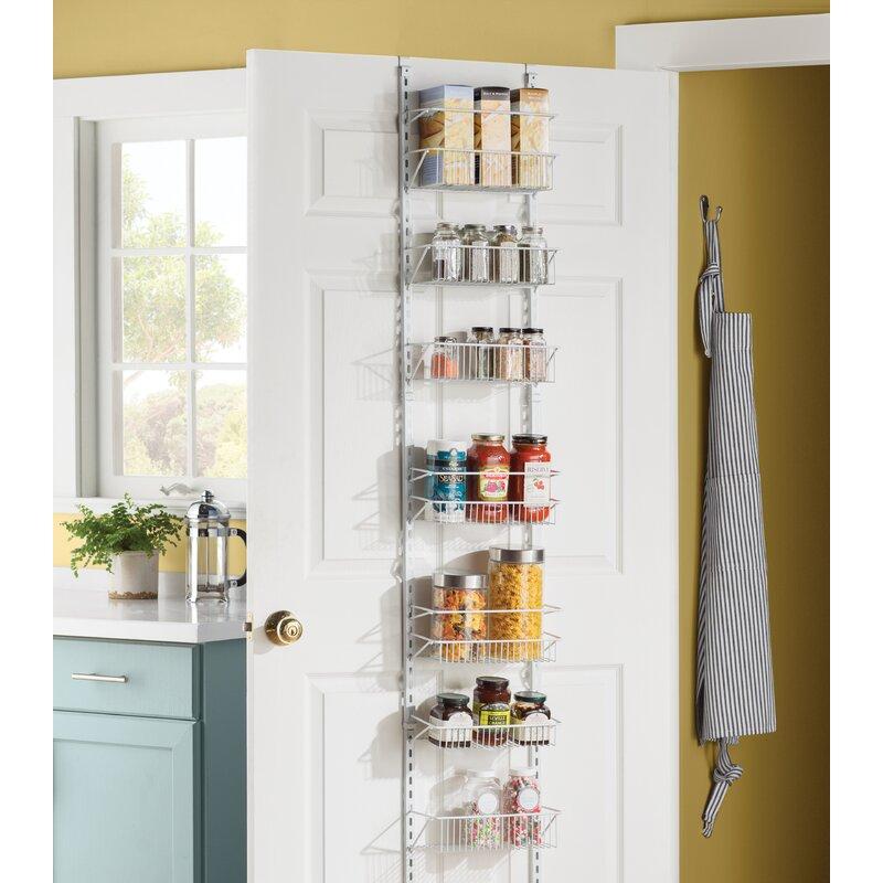 8 Tier Adjustable Cabinet Door Organizer