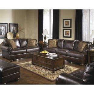 Brown Leather Living Room Sets You\'ll Love | Wayfair