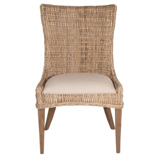 Lovely Topher Wicker Side Chair (Set Of 2)