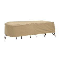 Oval or Rectangular Table and High Back Chair Cover