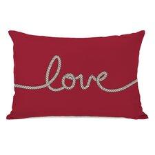 Love Rope Lumbar Pillow