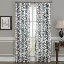 damask curtains  drapes you'll love  wayfair, Bedroom decor