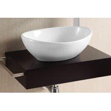 Ceramica II Oval Vessel Bathroom Sink
