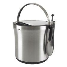 SteeL™ Ice Bucket & Tong Set