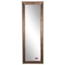 Miroirs sur pieds finition du support bronze for Grand miroir cuivre