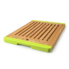Bamboo Open Groove Bread Board