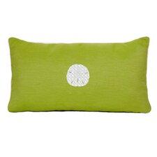 Sand Dollar Beach Sunbrella Outdoor Lumbar Pillow