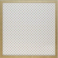 Patterns Dots Magnetic Memo Board