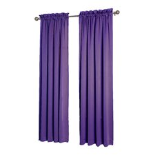purple curtains  drapes you'll love  wayfair, Bedroom decor