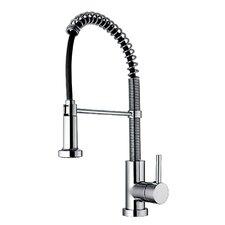 Jem Single Handle Hole Faucet with Flexible Spout