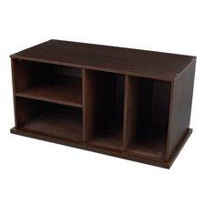 "17"" Storage Unit with Shelves"