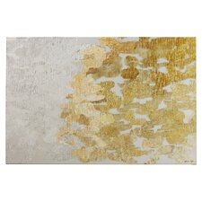 'Coe Gold and Platinum' Painting Print on Wrapped Canvas