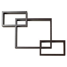 3 Intersecting Wall Shelf