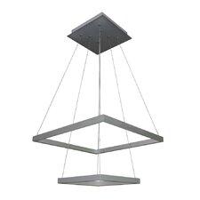 Atria Duo 5-Light LED Geometric Pendant