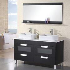 Great Bathroom Rentals Cost Tall Light Blue Bathroom Sinks Round Small Deep Bathtubs Bathtub Deep Cleaning Youthful Tall Bathroom Vanity Height BlackGlass Block Designs For Small Bathrooms 51\u0026quot;  55\u0026quot; Double Vanities You\u0026#39;ll Love | Wayfair