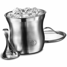 Barware 3 Piece Ice Bucket Set