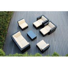 Ohana 9 Piece Deep Seating Group with Cushions