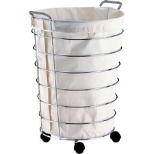 rolling laundry baskets  carts you'll love  wayfair, Home decor