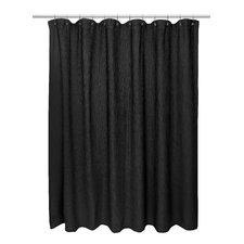 Hamblin Waffle Weave 100% Cotton Shower Curtain