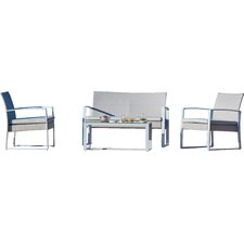 Borealis 4 Piece Seating Group with Cushion