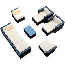 Ohana 10 Piece Deep Seating Group with Cushions