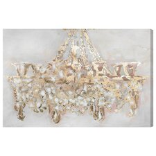 Candelabro Graphic Art on Wrapped Canvas