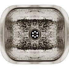 "13.63"" x 11.5"" Duet Reversible Double Bowl Fireclay Sink"