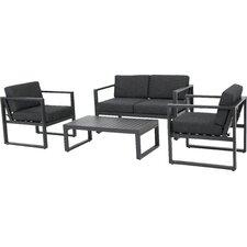Acree 4 Piece Deep Seating Group with Cushion
