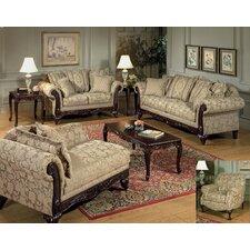 Westerville Living Room Set Leather