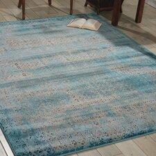 Saliba Blue Area Rug
