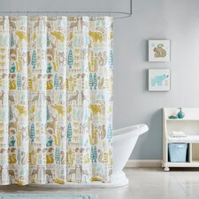 Woodland Printed Shower Curtain