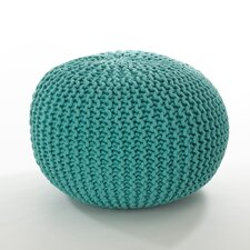 Cotton Twisted Rope Ottoman