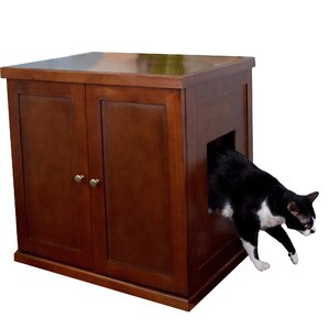 the refined litter box