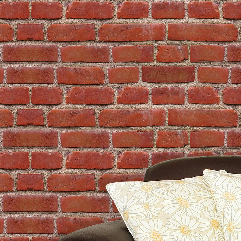 Merveilleux Flexiplus Vintage Brick Wall Decal